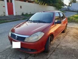 Renault Symbol 1.6/16v completo gnv comp bordo aceito cartão