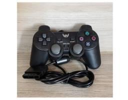 (NOVO)Controle Joystick Altomex Para Playstation 2