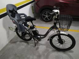 Bicicleta Elétrica c/ cadeirinha
