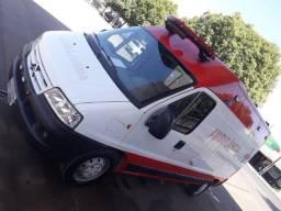Ambulância jumper teto alto 2014