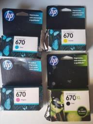 Cartuchos tinta HP 670 original