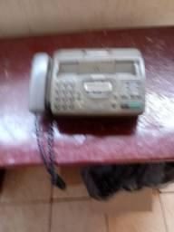 Vendo este telefone e fax usado da marca panasonic