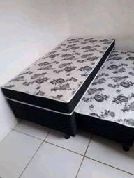 PROMOÇÃO cama nova solteiro com auxilia frete grátis