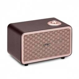 Caixa de som retro pulse bluetooth speaker presley sp367