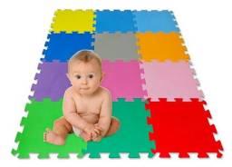 Tapete tatame placa E.V.A 50x50cm para quarto de bebê Enviamos Maringá