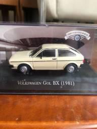 Miniatura Gol BX (1981) - Carros Inesquecíveis do Brasil