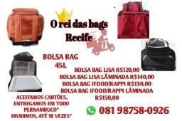 Bolsa mochila bag novas com isopor entregamos