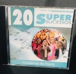 CD Cavaleiros do forró - 20 super sucessos