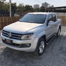 Título do anúncio: VW - Amarok Highline CD 2.0 TDi 16v Aut. 2015 Blindada