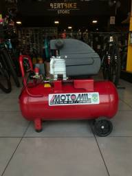 Título do anúncio: Compressor Motomil 50L - Muito Novo!