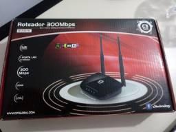 V/roteador wireless c3 tech 60 reais