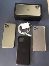 Iphone 11 pro max 64 gb green (verde meia noite)