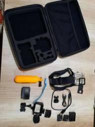 Go Pro Hero 5 com 2 baterias acessórios e maleta