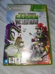 Jogo plants vs zombie xbox 360