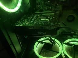 (Ipatinga) Placa de Video Nvidia GTX 1050 2Gb