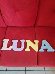 Título do anúncio: Nome Luna em mdf