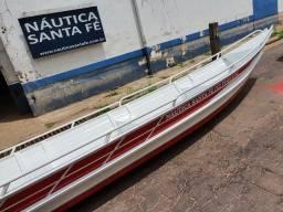 Canoa 6 metros nova borda alta .