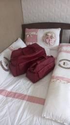 Kit de berço e bolsas