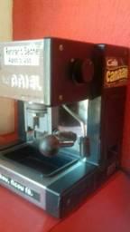 Cafeteira INOX sachê capuccino café expresso pronta para uso