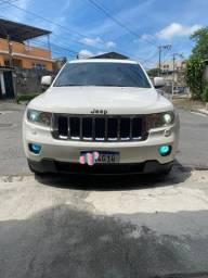 Jeep Grand Cherokee Laredo 2012 GNV 4x4 2021 Ok. carro mto top