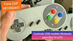 Controle USB box TV e PC