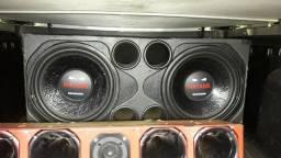 Vendo Alto falantes de 15polegadas  de 800 rms bobina dupla 4ohms