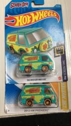Hot wheels mystery machine scooby doo lacrado novo no blister
