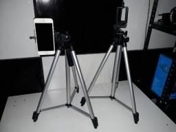 Tripé Profissional Inova Universal Para Câmera E Celular 1,20cm Spo-8193