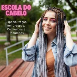 Título do anúncio: Escola do  cabelo - crespo, cacheados e ondulados