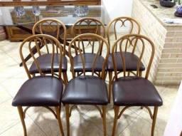 Conjunto de 6 cadeiras Gerdau Thonet