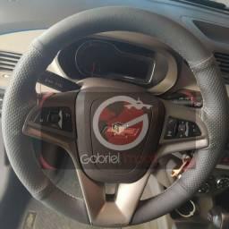 Capa esportiva para volante costurada na hora carros nacionais ou importados