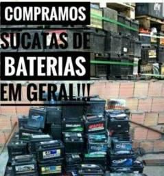 Sucatas de bateria