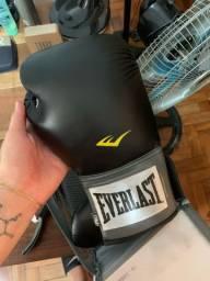 Luva de Boxe + Bandagem + Protetor Bucal Everlast