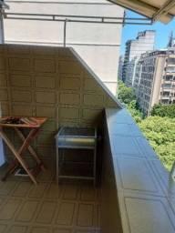 Título do anúncio: Apt temporada Copacabana com varandão e churrasqueira.