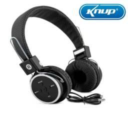 Fone De Ouvido Bluetooth S/fio Celular Chamadas Pc Sd Fm