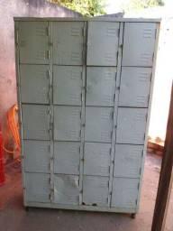 Armário de aço 20 portas