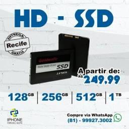 Ssd 128 / 256 / 512 / 1TB (1 Ano de Garantia) Entrega Grátis