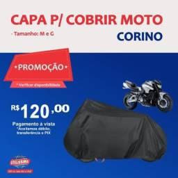 Título do anúncio: Capa para Cobrir Moto Corino (P/M/G) - Entrega Grátis