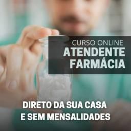 SUPER DESCONTO- CURSO ATENDENTE FARMÁCIA