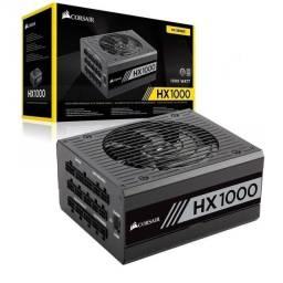 Título do anúncio: Fonte Corsair 1000w 80 Plus Platinum Modular Hx1000 CP-9020139-WW