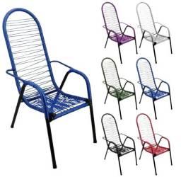 Cadeira De Varanda Cadeira De Área Cadeira De Fio Colorido/ Silicone