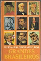 OLX268A Dicionário Biográfico dos Grande Brasileiros capa dura raridade