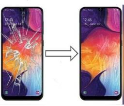 Título do anúncio: Vidro da Tela para Samsung A30 A305 , Mantenha a Originalidade do seu Estimado Celular!