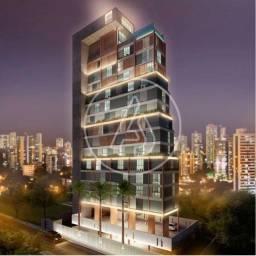 Loft Home Designer 24m² - Inovador - Andar alto - Próximo ao Mar - Lazer arrojado.