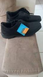Sapato Social De Segurança Couro Marluvas <br><br><br>