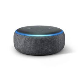 Título do anúncio: Echo Dot (3ª Geração): Smart Speaker com Alexa - Cor Preta (LACRADO).