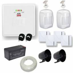 Título do anúncio: Kit ALARME JFL ASD 200 com 4 sensores