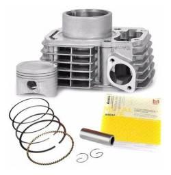 Kit Motor Metal Leve Tds Honda Cg 125 Fan Es/ks 2009/ Cg 125