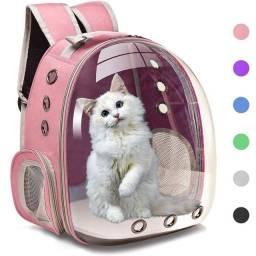 Bolsa portadora para gatos e pets  leio o anúncio