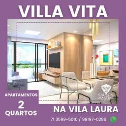 Vila Vita Residencial, 2 quartos em 53m² com varanda - Super Oportunidade